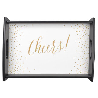Cheers Holiday Serving Platter