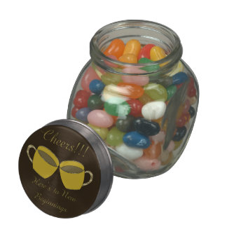 Cheers!!! Jelly Belly Candy Jar