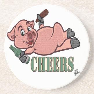 Cheers Pig Coaster