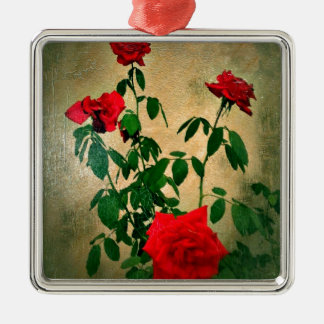 Cheers,Roses of Love_ Christmas Ornaments