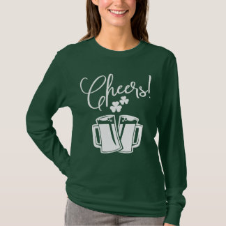 Cheers! St Patrick's Day Classic Irish Pub & Party T-Shirt