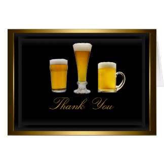 Cheers Thank You Card