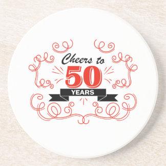 Cheers to 50 years coaster