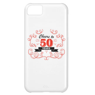 Cheers to 50 years iPhone 5C case