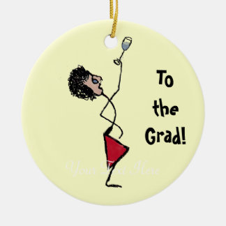 Cheers to the Graduate Christmas Ornament