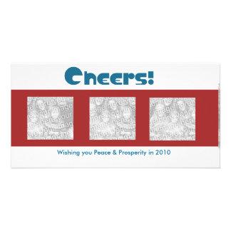 Cheers to the New Year... Custom Photo Card