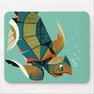 Cheery Australian Sea Turtle Mouse Pad