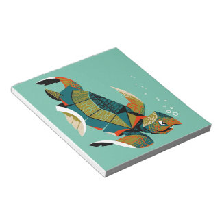 Cheery Australian Sea Turtle Notepad