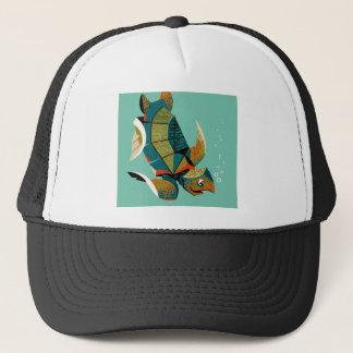 Cheery Australian Sea Turtle Trucker Hat