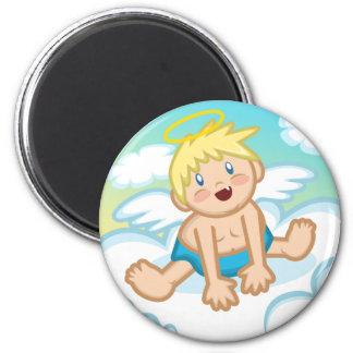 Cheery Baby Boy: Angel Magnet