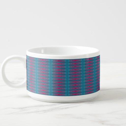 Cheery Cherry Blues Chili Bowl Mug
