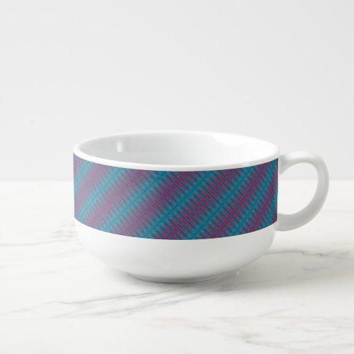 Cheery Cherry Blues Soup Mug