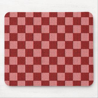 Cheery Cherry Check Mousepad