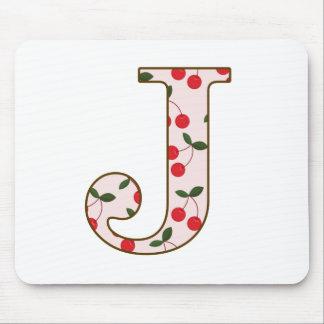 Cheery Cherry J Mouse Pad