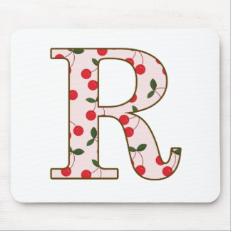 Cheery Cherry R Mouse Pad