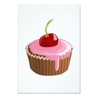 Cheery Cupcake Invitations