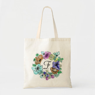CHEERY FLOWER RING | resuable bag