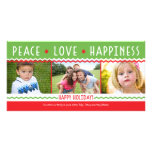 Cheery Holiday (Red / Green) Collage Photo Card