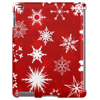Cheery holiday snowflakes