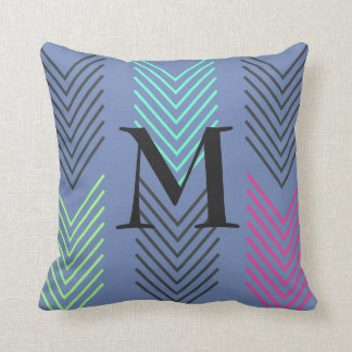 Cheery Modern Arrows Personalizable Throw Pillow