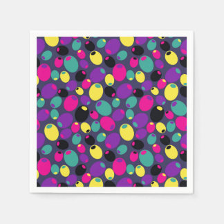 """Cheery """"olives"""" cocktail napkins paper napkins"""