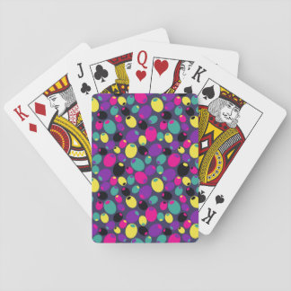 "Cheery ""olives"" playing cards"