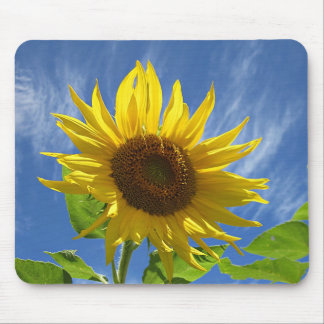 Cheery Sunflower Mouse Pad