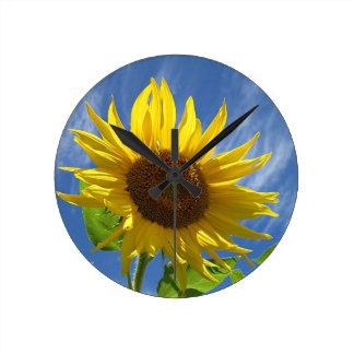 Cheery Sunflower Wallclocks