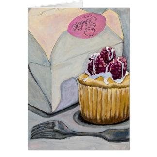 Cheescake Cupcake Card