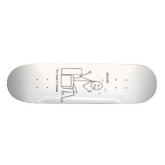 cheese 21.3 cm mini skateboard deck