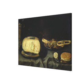 Cheese and Dry Dessert Gallery Wrap Canvas