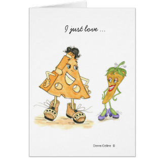 Cheese and Pepper Card