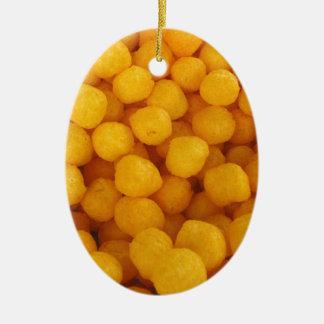 Cheese Balls Ceramic Ornament