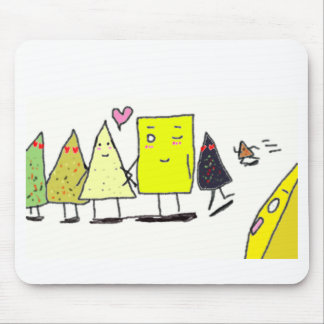 Cheese Cuts: Scene 2 Mouse Pad
