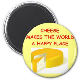 cheese fridge magnet