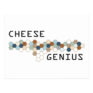 Cheese Genius Postcard