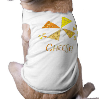 Cheese! graphic dog clothing