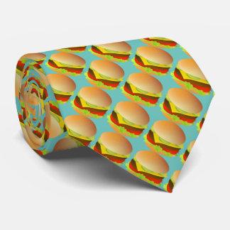 Cheese Hamburger Tie