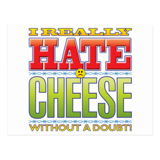 Cheese Hate Face Postcards