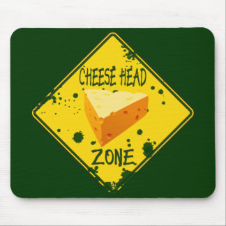 Cheese Head Zone Mouse Pad