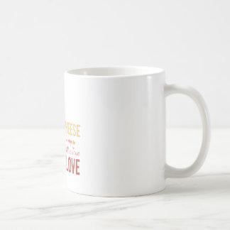 Cheese Is My Love Coffee Mug