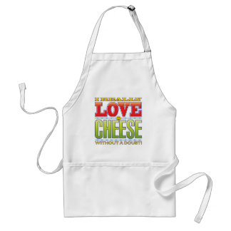 Cheese Love Face Apron