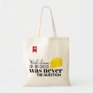 Cheese-lover's Tote Budget Tote Bag