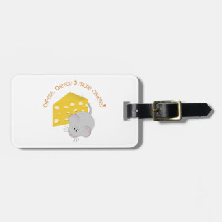 Cheese Luggage Tag