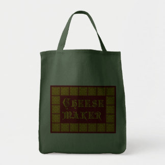 Cheese Maker Vintage Kitchen Art Grocery Tote Bag