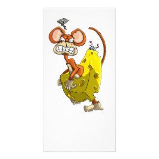 Cheese Monkey Custom Photo Card