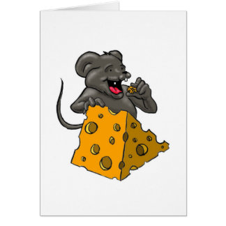Cheese Mouse Card