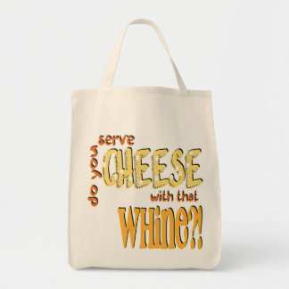 Cheese - Organic Grocery Tote