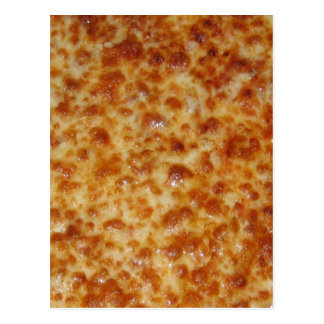 Cheese Pizza Postcard