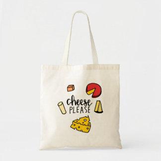Cheese please tote bag